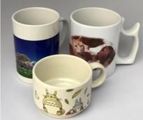 コーヒーカップにオリジナル画像を印刷